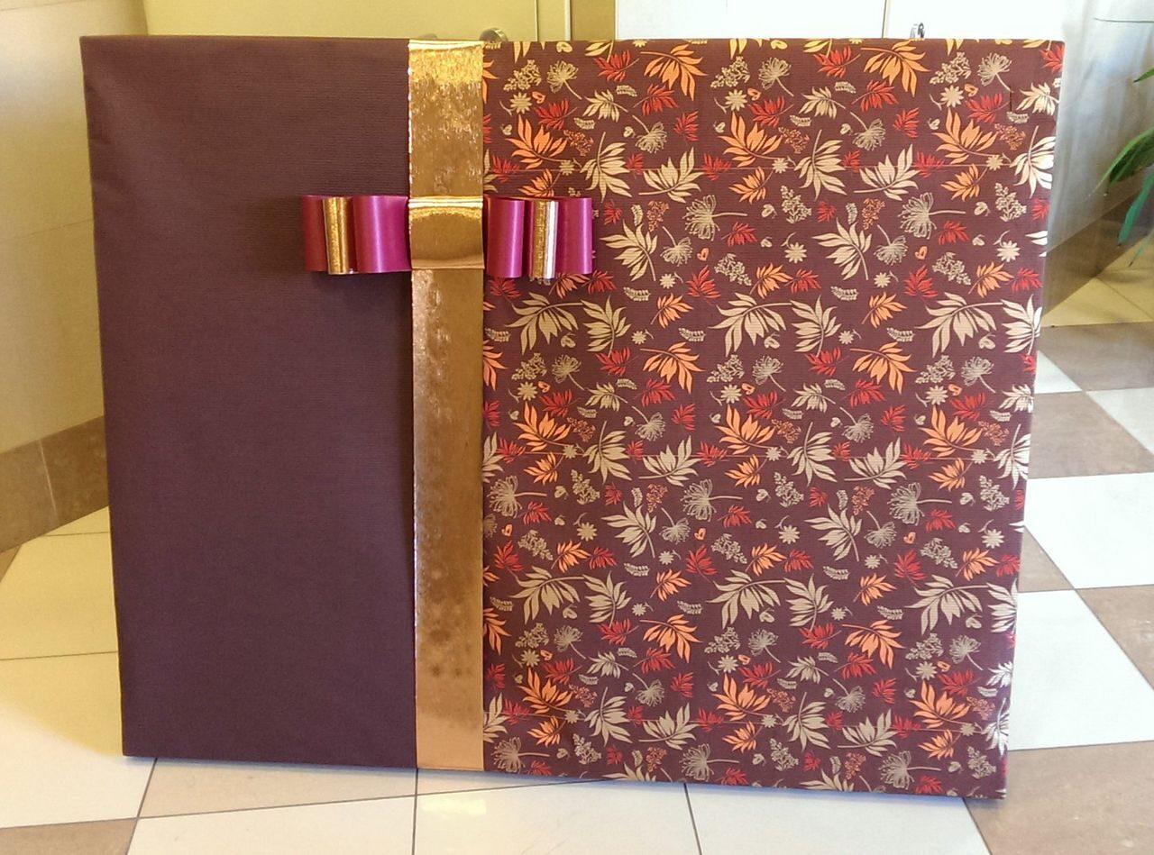 Как упаковать картину на подарок 78