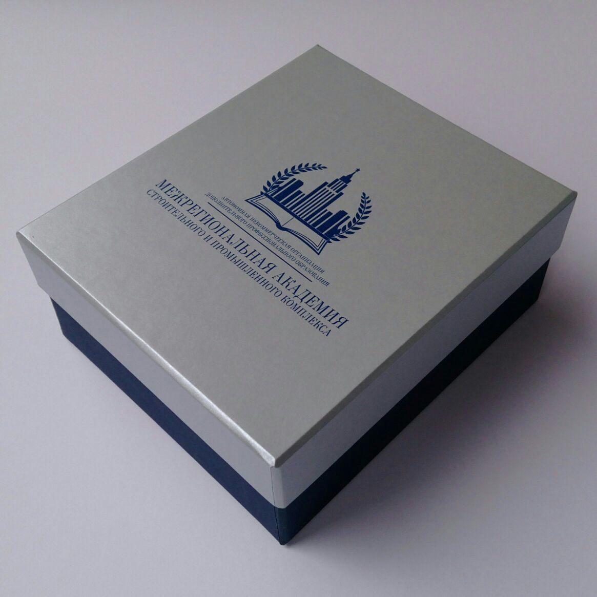 испарять поверхности подарочная упаковка с логотипом простом нательном