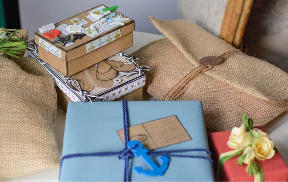 Как упаковать очень большой подарок 10